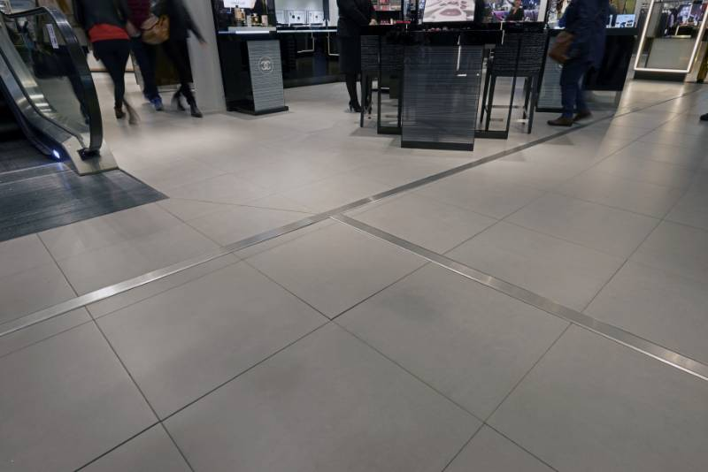 Specially Designed Expansion Joint Covers at Grand Central Birmingham