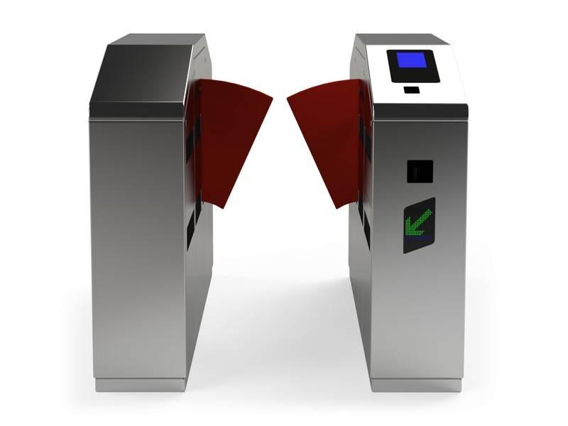 Metro Bi-Parting Gate Ticket Turnstile Gate