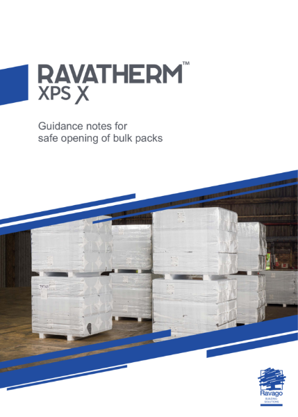 Guidance notes for safe opening of bulk packs