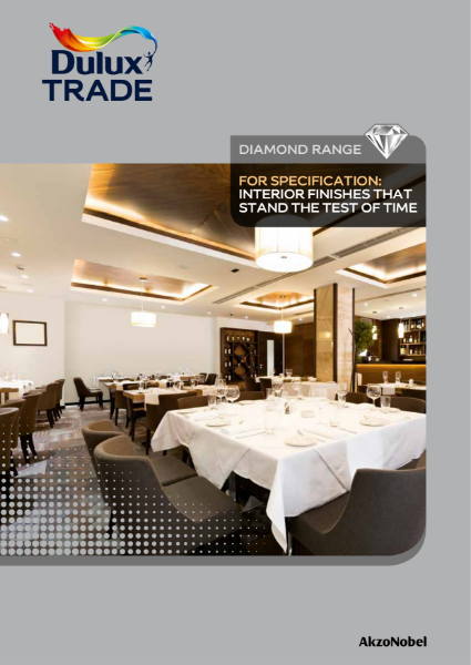 Dulux Trade Diamond Specifier Guide