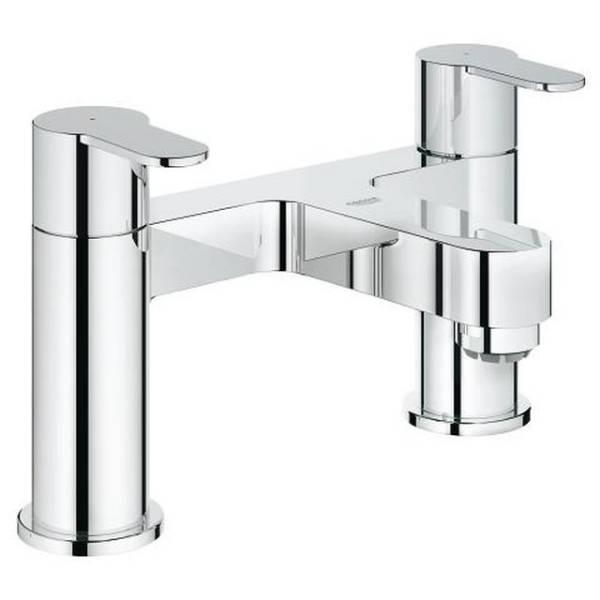 "Eurostyle Cosmopolitan Two-Handle Bath Filler 1/2"""
