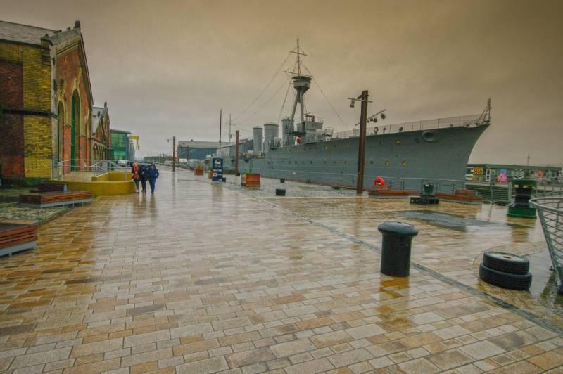 HMS Caroline and Pump House
