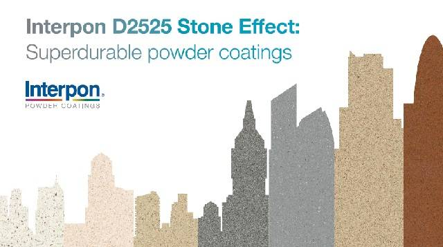 Powder Coating - Interpon D2525 Stone Effect