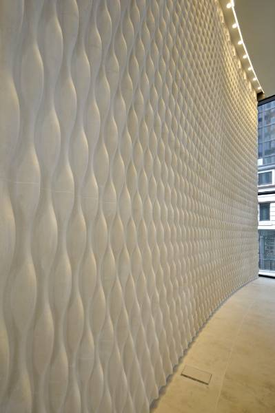 Two New Ludgate Portland Stone Feature Wall