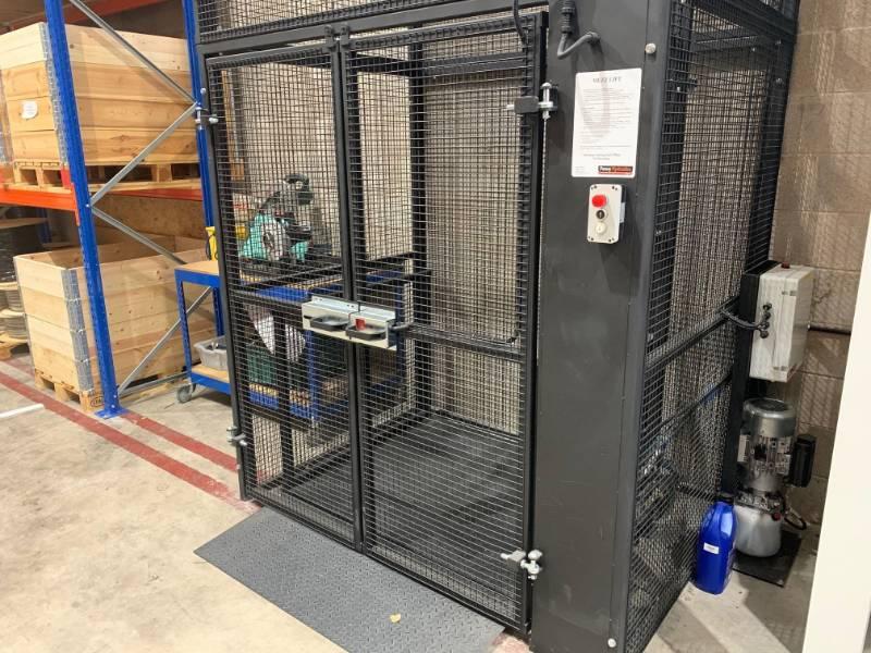 MezzLight 250 kg Maximum Working Load Goods Lift