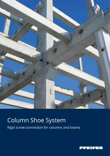 Pfeifer Column Shoe for Precast Column Connections