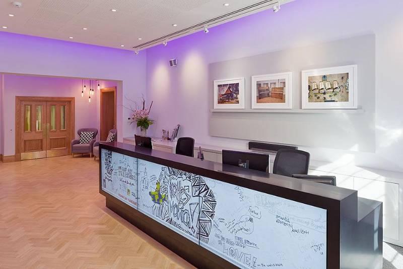 Istoria Bespoke Parquet Abbey Road Studios by McFarlane Latter