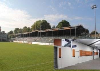 Bath Rugby Club use Magply on Light Gauge Steel Frame