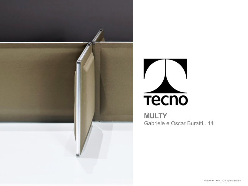 Multy - Innovative Acoustic partition system for co-working environments and more.