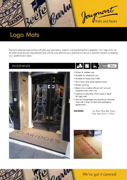 Logo Mat Flyer