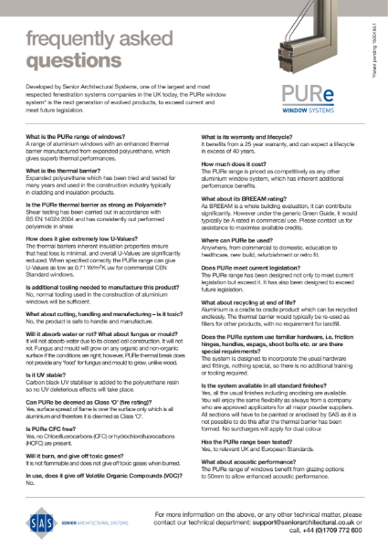 PURe Systems FAQ Sheet