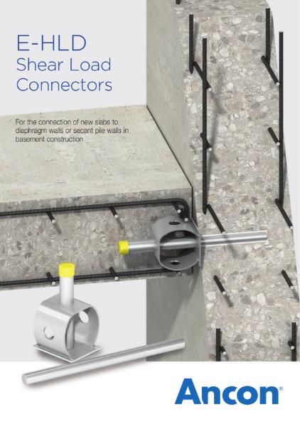 E-HLD Shear Load Connectors