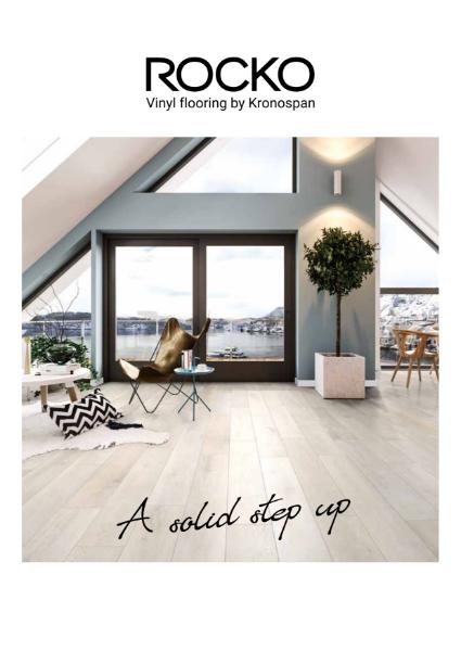 Rocko Vinyl Flooring by Kronospan