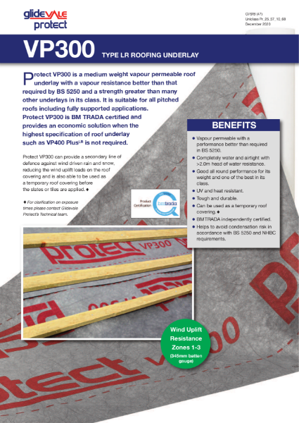 Glidevale Protect VP300
