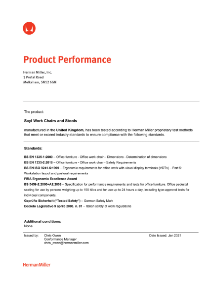 Sayl Certification