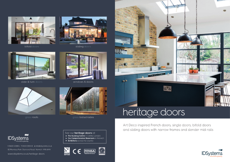 IDSystems heritage door brochures
