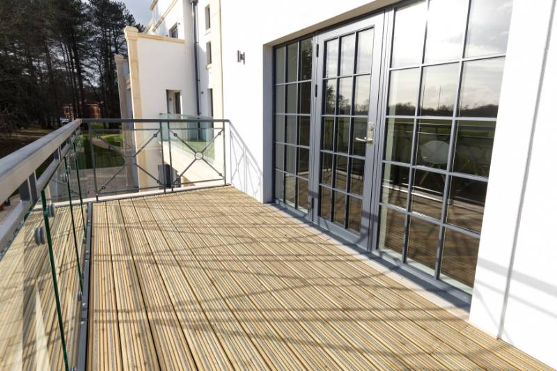 Decking - Audley Redwood Village