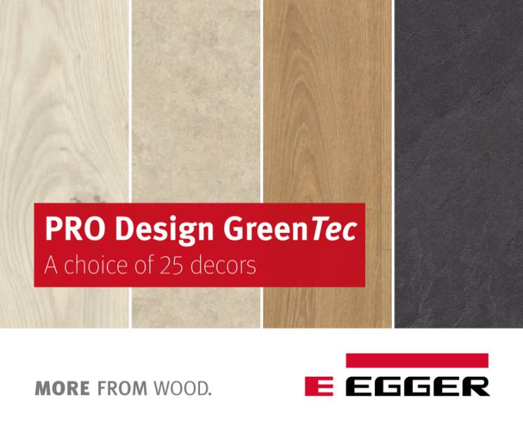 EGGER PRO Design GreenTec Flooring