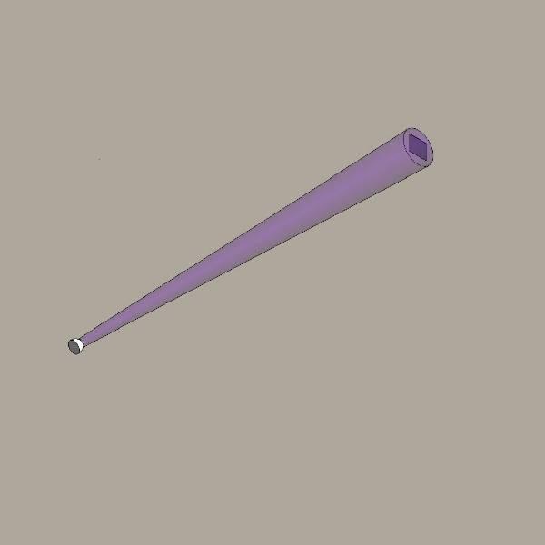 Optical beam smoke detector (reflector)