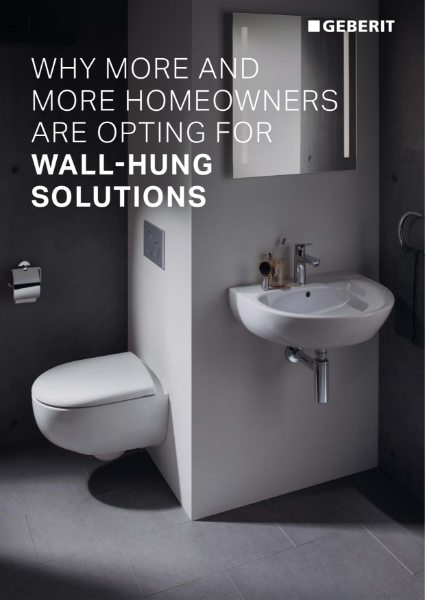 Why more and more homeowners are opting for wall-hung solutions
