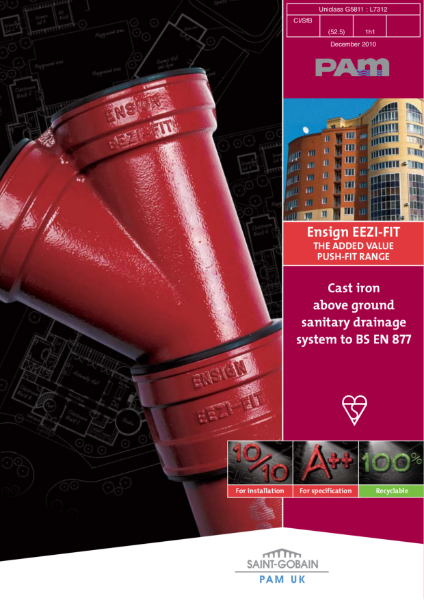 Ensign EEZI-FIT: The added value push-fit range
