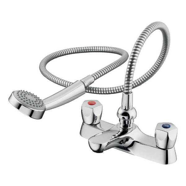 Sandringham 21 Dual Control Two Hole Bath Shower Mixer