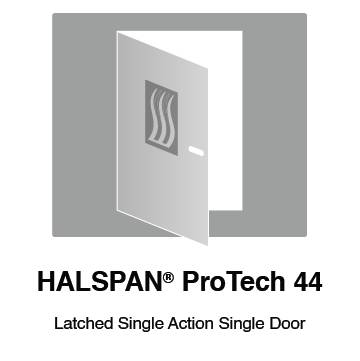 HALSPAN® ProTech 44m Interior Grade Door Blanks - Latched Single Acting Single Doors