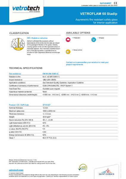 006. Vetroflam Datasheets