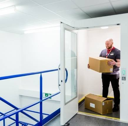 Matalan Reduce Manual Handling with Gartec Lift