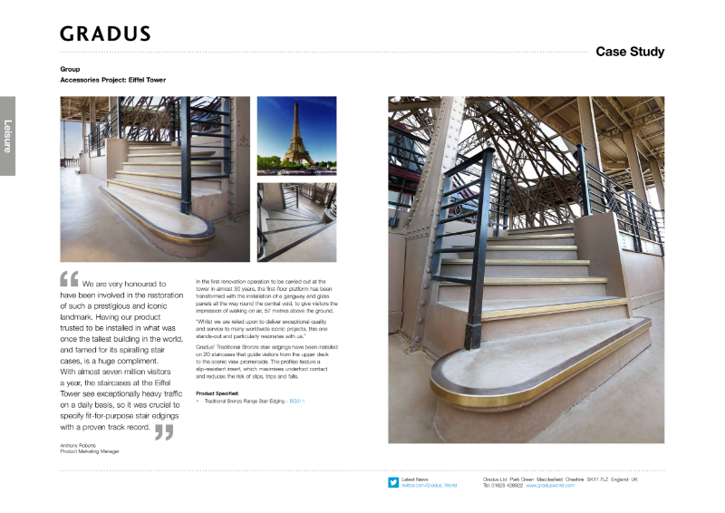 Eiffel Tower Stair Edging Case Study