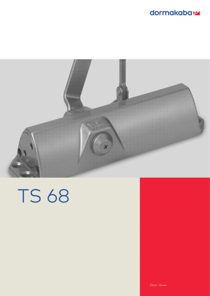 DORMA TS68 Door Closer