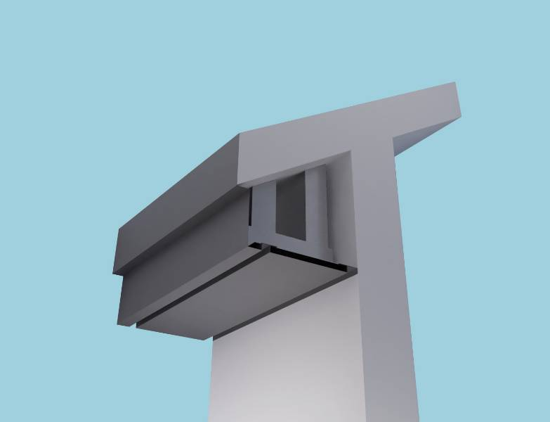 Stepped Fascia Systems: Fascia Soffit