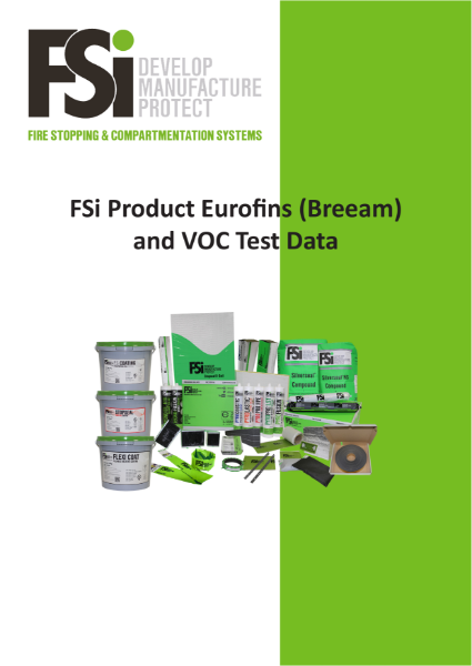 VOC and BREEAM Product Information