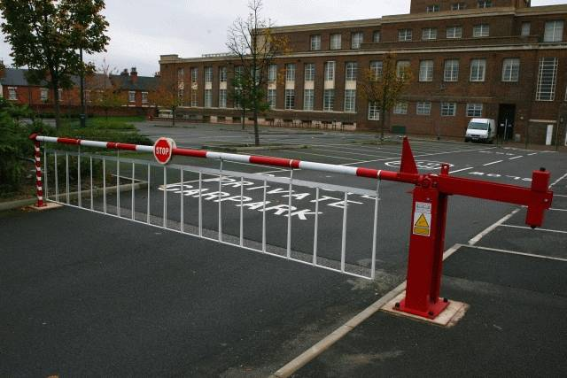 Manually Operated Barriers