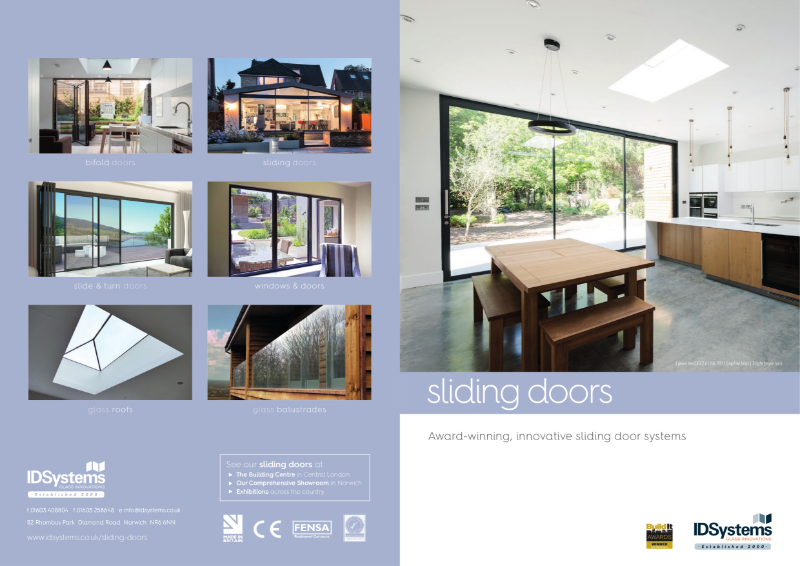 IDSystems sliding doors product brochure