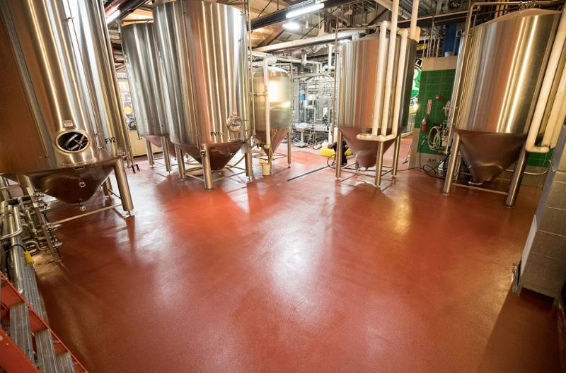US Homegrown Craft Beer Sensation, Brooklyn Brewery, Chooses Fresh Floor Finish for Williamsburg Plant Upgrades?