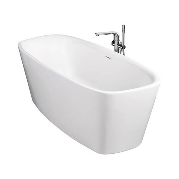 Vara 180 x 80cm Freestanding Double-Ended Bath