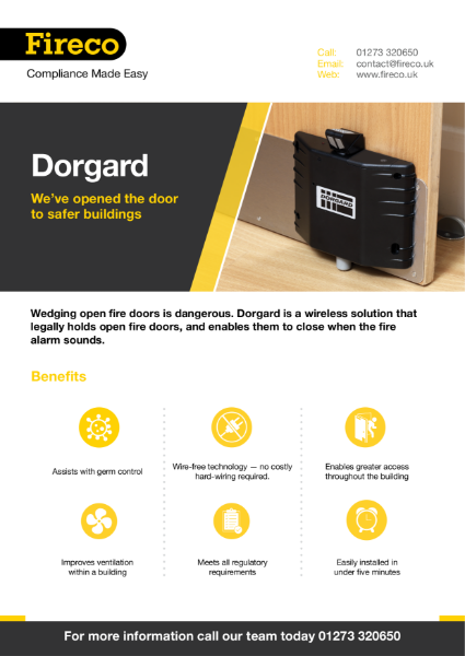 Dorgard Product Brochure