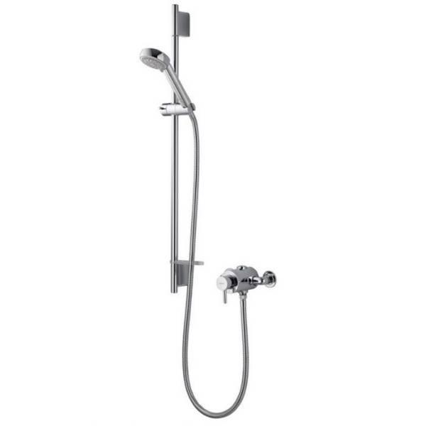 Siren SL exposed mixer shower with adjustable head