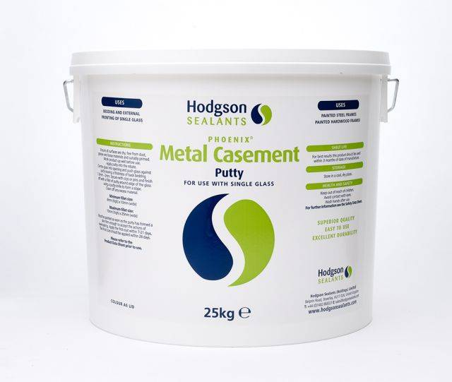 Metal Casement Putty