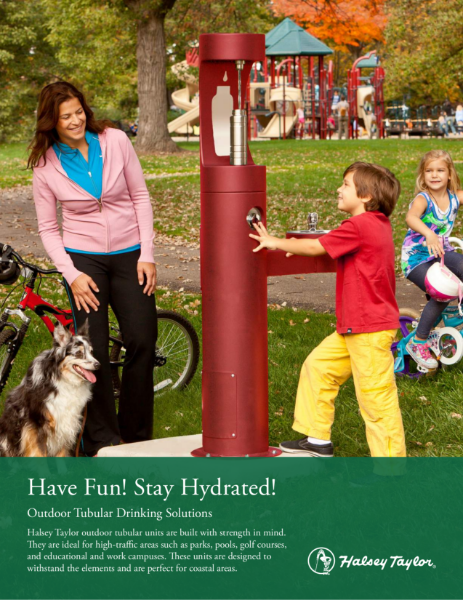 Outdoor Drinking Fountains