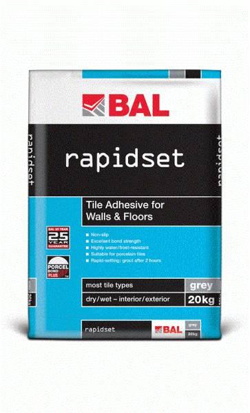 Rapidset - Tile adhesive