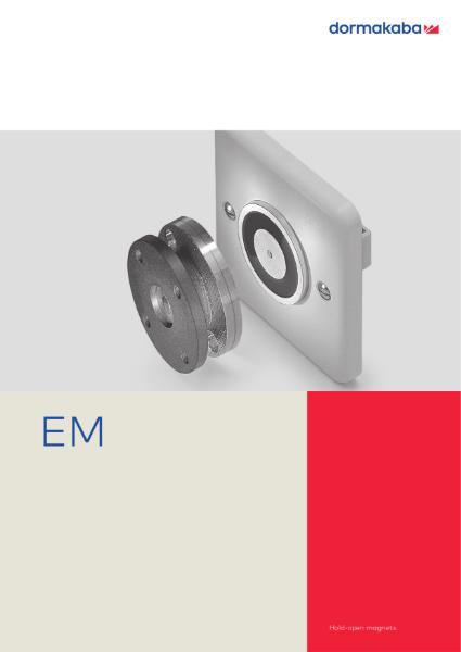 DORMA EM Hold-open magnets
