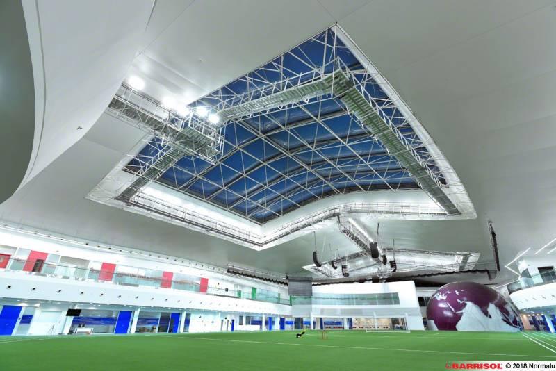 Barrisol Acoustics® - Aspire Park Stadium - Qatar