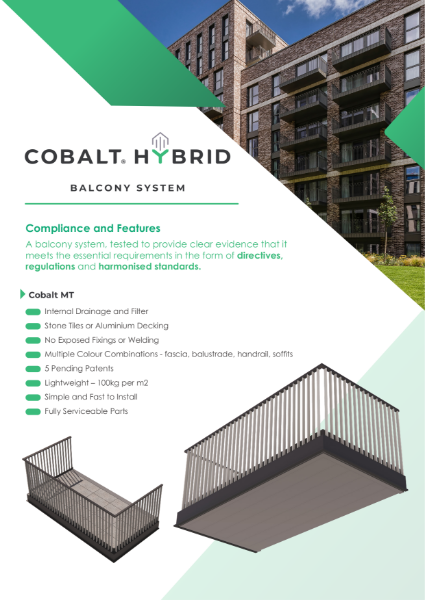 Compliance Sheet - Cobalt Hybrid - MT Balustrade