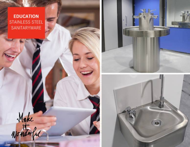 Serlby Park Academy benefit from stainless steel sanitaryware from Franke Sissons