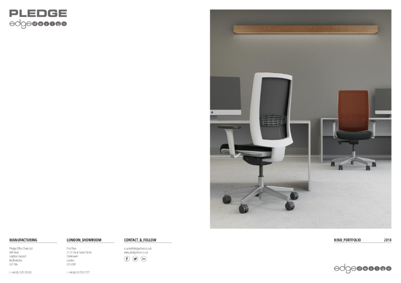 Kind Portfolio - Task, Meeting, Visitor, Executive & Beam Seating