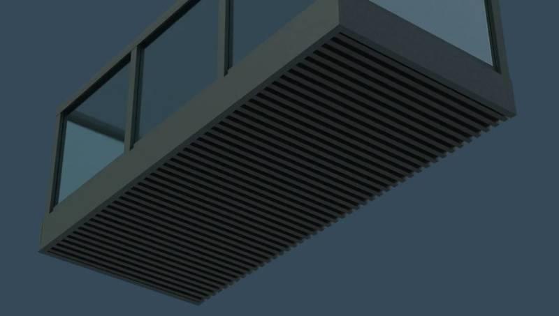 AliClad Decor Balcony Soffit Cladding from AliDeck