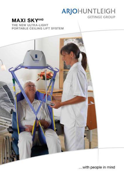 Arjo Portable Ceiling Hoist System - Maxi Sky 440