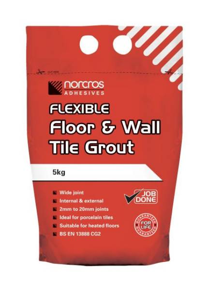 Flexible Floor And Wall Tile Grout